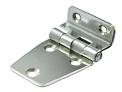24.1 - Μεντεσές Inox Γωνιακός 65mm χ 40mm - Σετ Των 5 Τεμαχίων