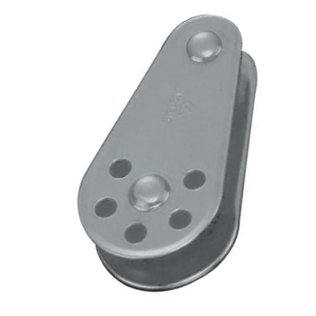 33.9 - Τροχαλίες Με Μονό Νάιλον Ράουλο Και Σταθερό Πίρο/Inox 6-8mm - Συσκευασία Των 10 Τεμαχίων