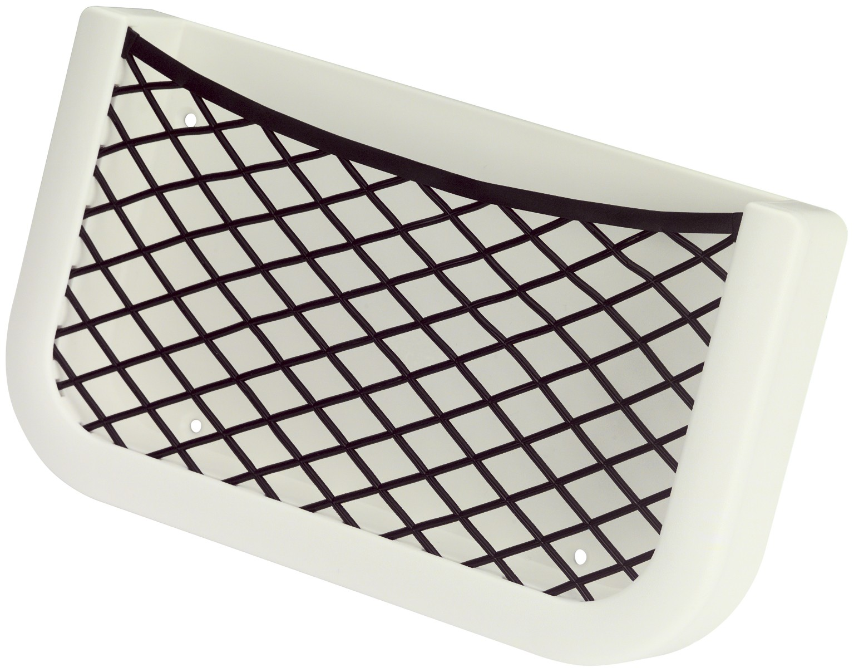 16.59 - Θήκη Αποθήκευσης Με Διχτάκι Λευκή L205 x W120 x D32 mm