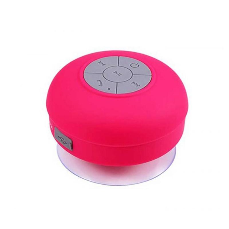 Αδιάβροχο Bluetooth Ηχείο με βεντούζα Χρώματος Κόκκινο