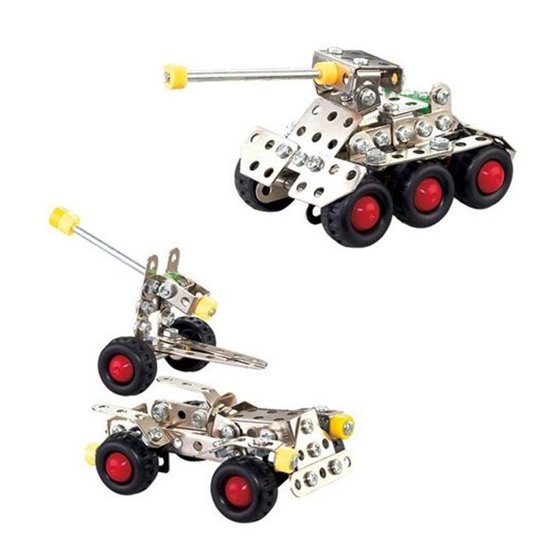 Μεταλλικά Συναρμολογούμενα Οχήματα Nuts & Bolts
