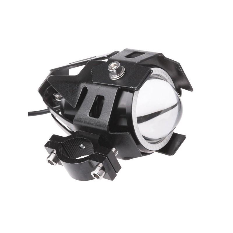 Προβολέας Μοτοσυκλέτας LED U7 125W με Angel Eye