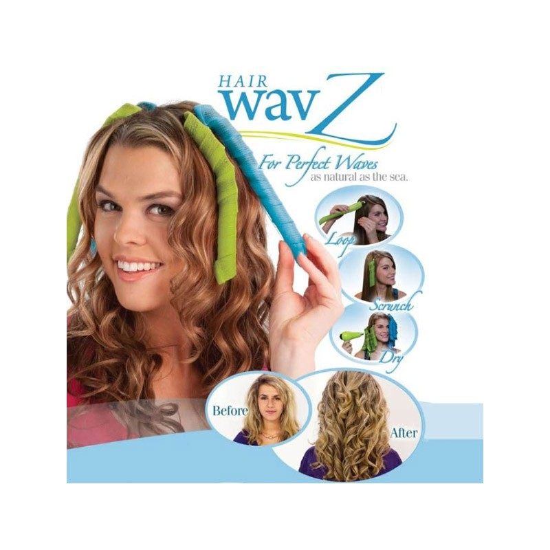 9.9 - Rollers για Κυματιστές Μπούκλες Hair Wavz