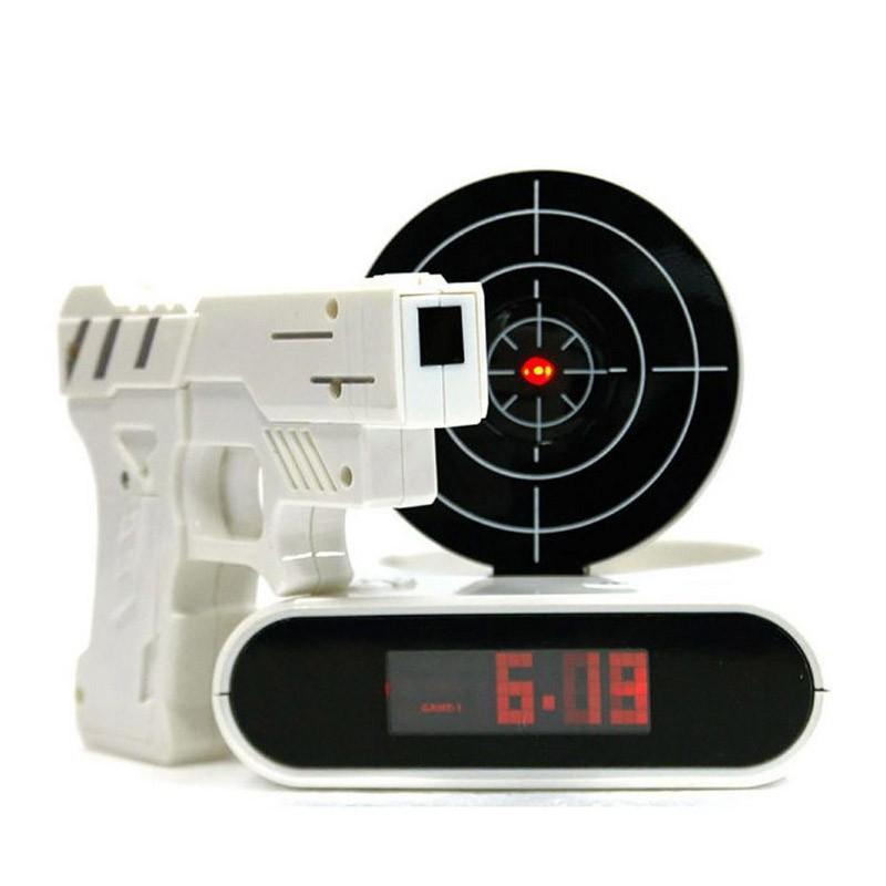 Ρολόι Ξυπνητήρι Στόχος Gun O'Clock
