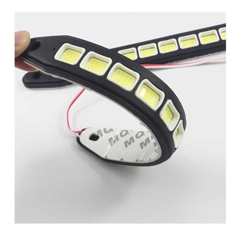 Σετ Εύκαμπτα Φώτα Ημέρας Αυτοκινήτου COD LED - 2 Τεμάχια