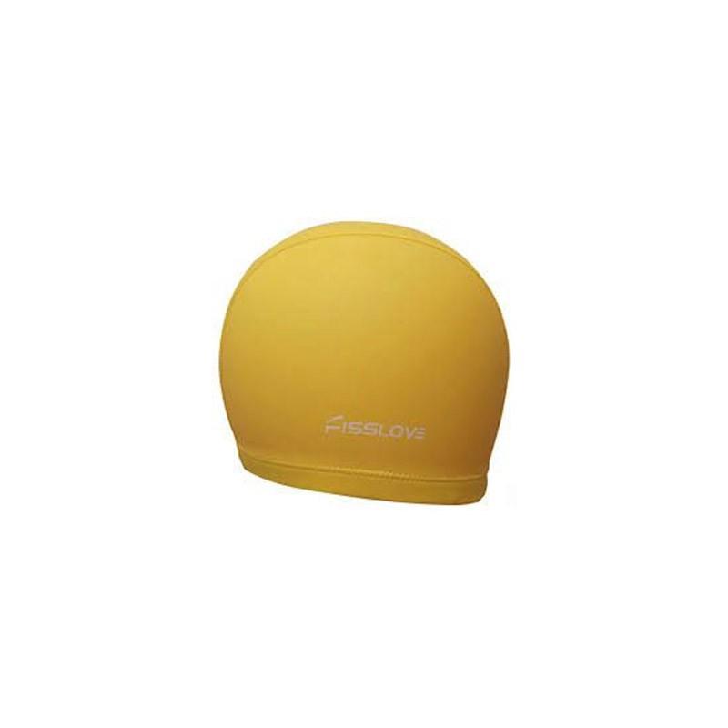 Σκουφάκι Κολύμβησης - Swim Cap FissLove Χρώματος Κίτρινο