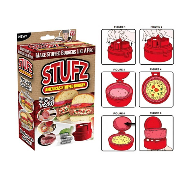 Stufz Burger-Συσκευή για Τέλεια Γεμιστά Μπιφτέκια