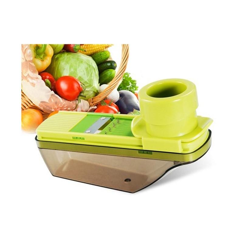 6.8 - Τρίφτης - Κόφτης Λαχανικών με Δοχείο - Compact Grater