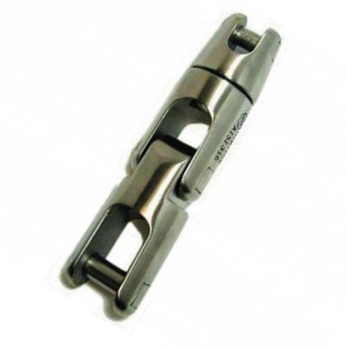 50.38 - Στριφτάρι Σπαστό Περιστρεφόμενο Inox 316 Άγκυρας Για Αλυσίδα 12mm