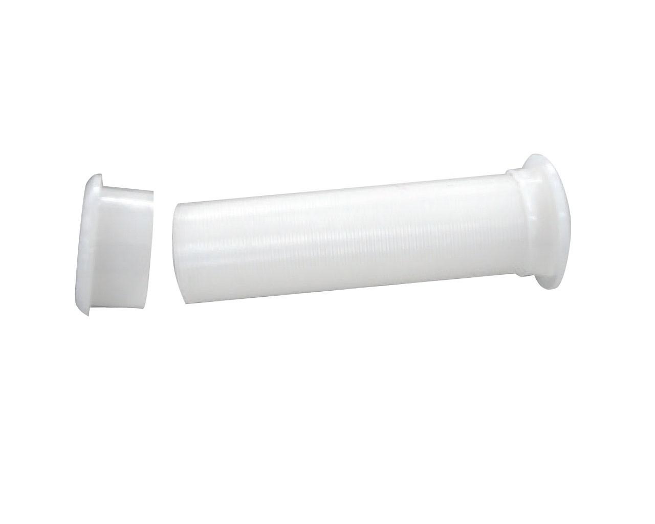12.1 - Υδρορροή Πλαστική Με Αποσπώμενο Καπάκι Ø21.68mm - Συσκευασία Των 10 Τεμαχίων