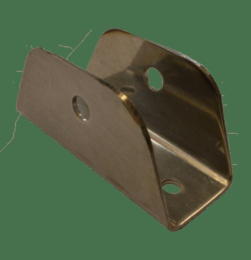11.16 - Βάση Ανταλλακτική Για Ποδαράκι Σκάλας Για Σωλήνα 25mm - Σετ Των 2 Τεμαχίων