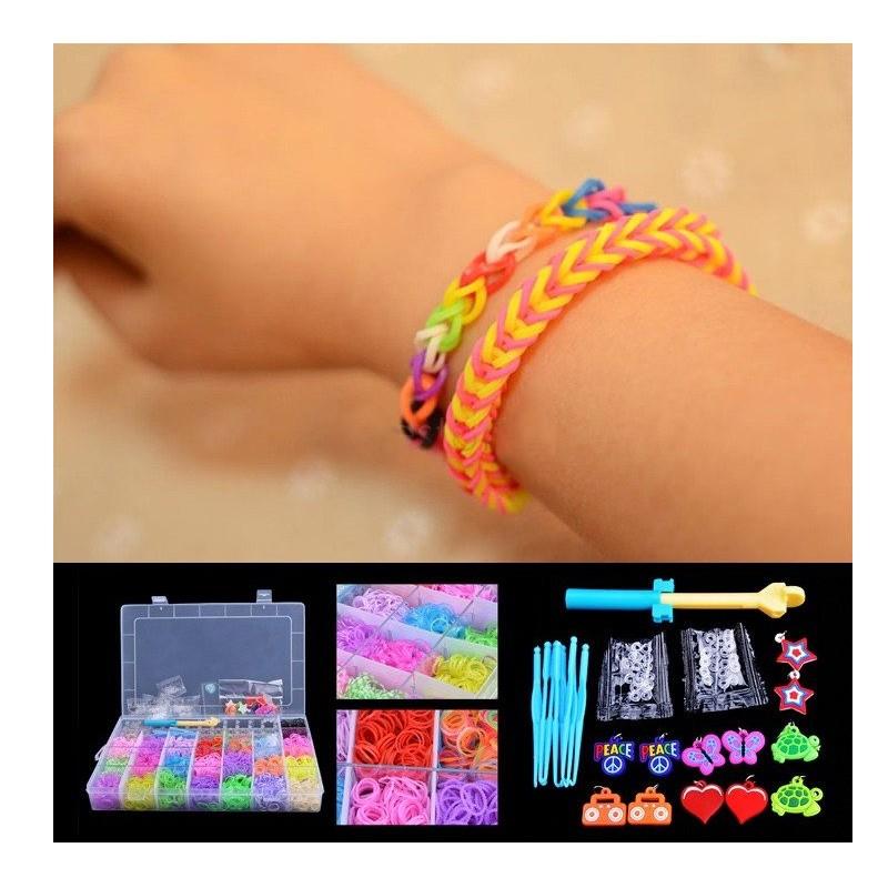 17.9 - Αργαλειός για Πανέμορφα Βραχιολάκια από Λάστιχο Colorful Bands Kit