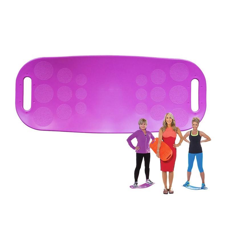 Δίσκος Ισορροπίας Γυμναστικής Simply Fit Χρώματος Μωβ