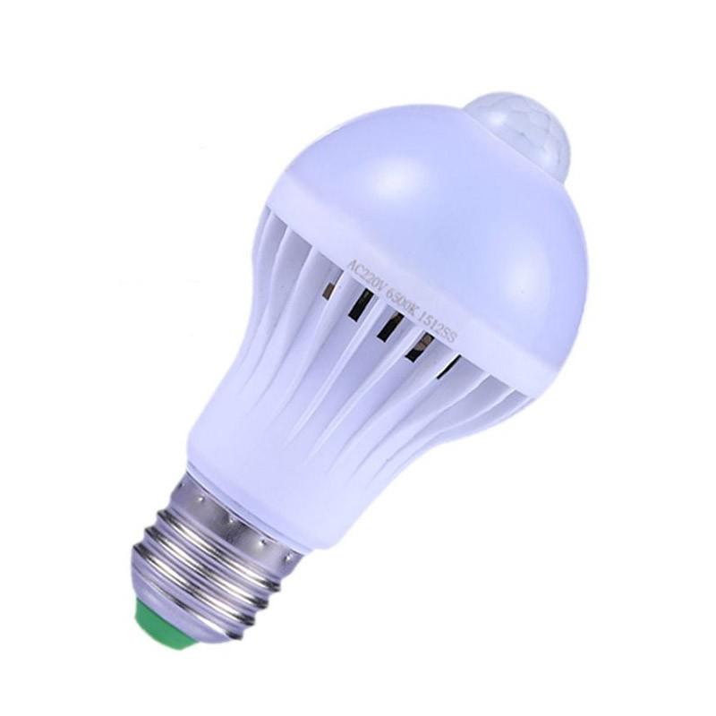 Λάμπα LED με Αισθητήρα Κίνησης 7W