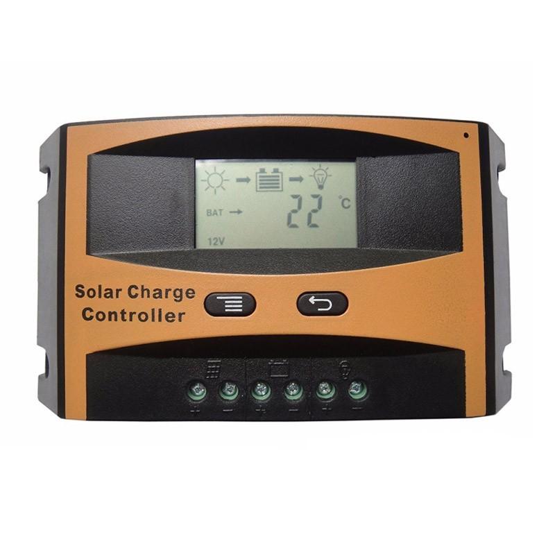 39.9 - Ψηφιακός Ρυθμιστής Φόρτισης για Panel με LCD Οθόνη  LD2410C