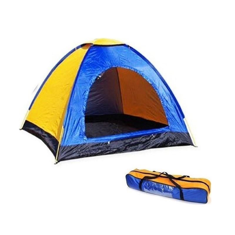 Σκηνή Camping 4 Ατόμων με Σίτα και Παράθυρο