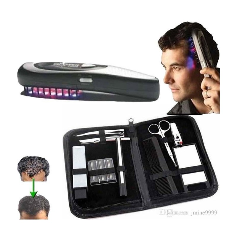 Χτένα Ενίσχυσης της Τριχοφυΐας με Laser και Δόνηση Power Grow Comb