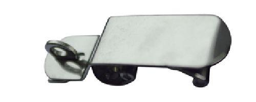 12.52 - Κλείστρο Inox Ρυθμιζόμενο Ασφαλείας L 120mm x W 30mm