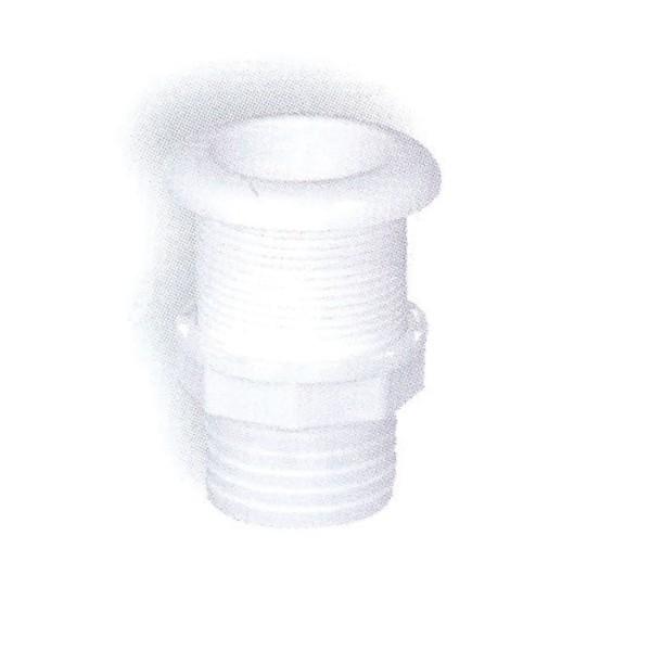12.61 - Υδρορροή Πλαστική Για Σωλήνα L85 x Φ42mm Λευκή