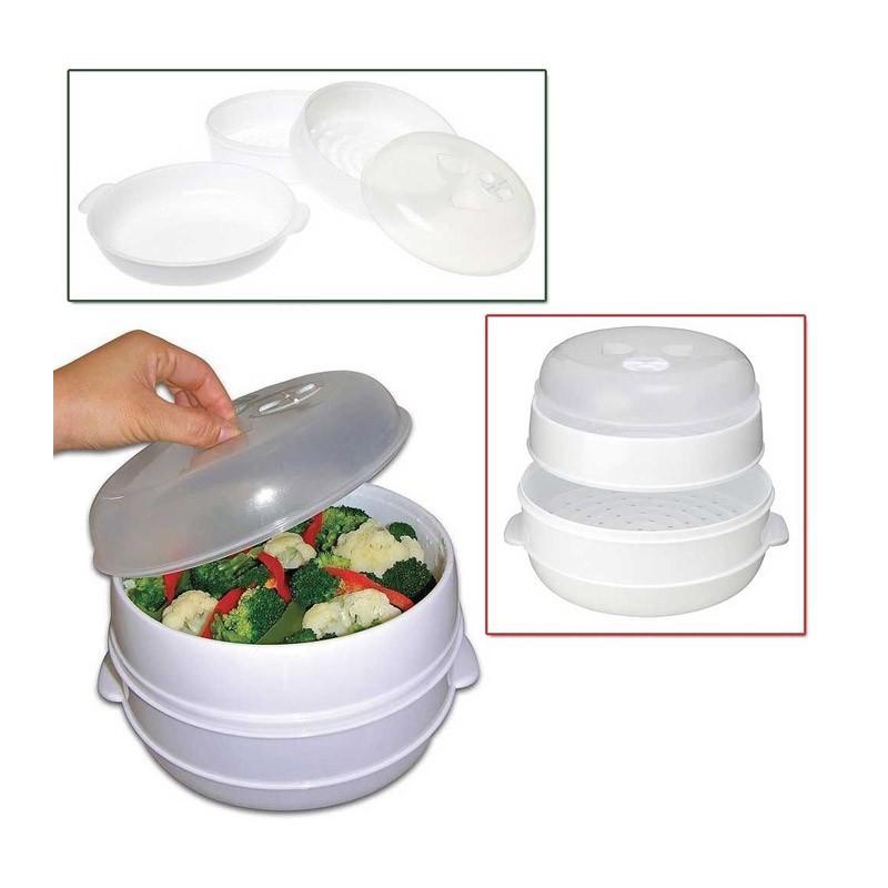 Ατμομάγειρας 2 Επιπέδων για τον Φούρνο Μικροκυμάτων