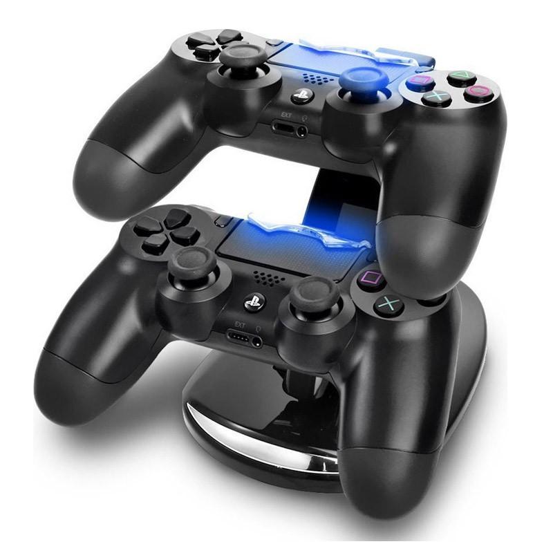 Διπλή Βάση Φόρτισης για Χειριστήρια PS4