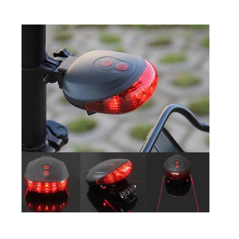 Φως Ποδηλάτου με Laser Διπλής Δέσμης