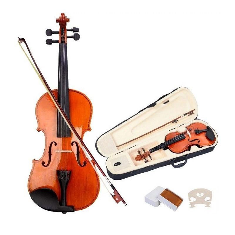 Κλασικό Βιολί 4/4 με Δοξάρι και Θήκη Μεταφοράς