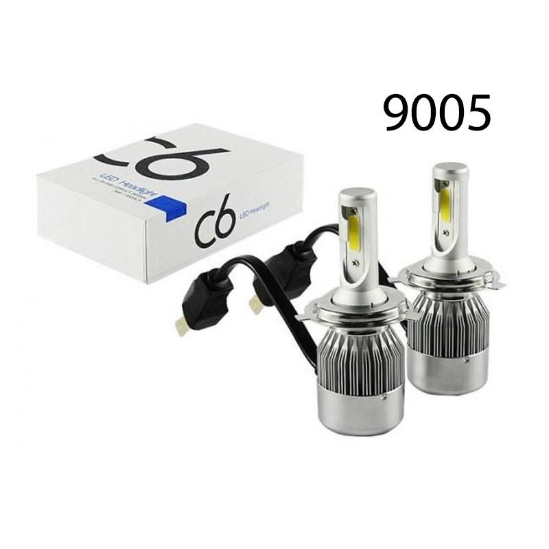 Λαμπτήρες Cob Led Αυτοκινήτου C6 Kit 9005 36W