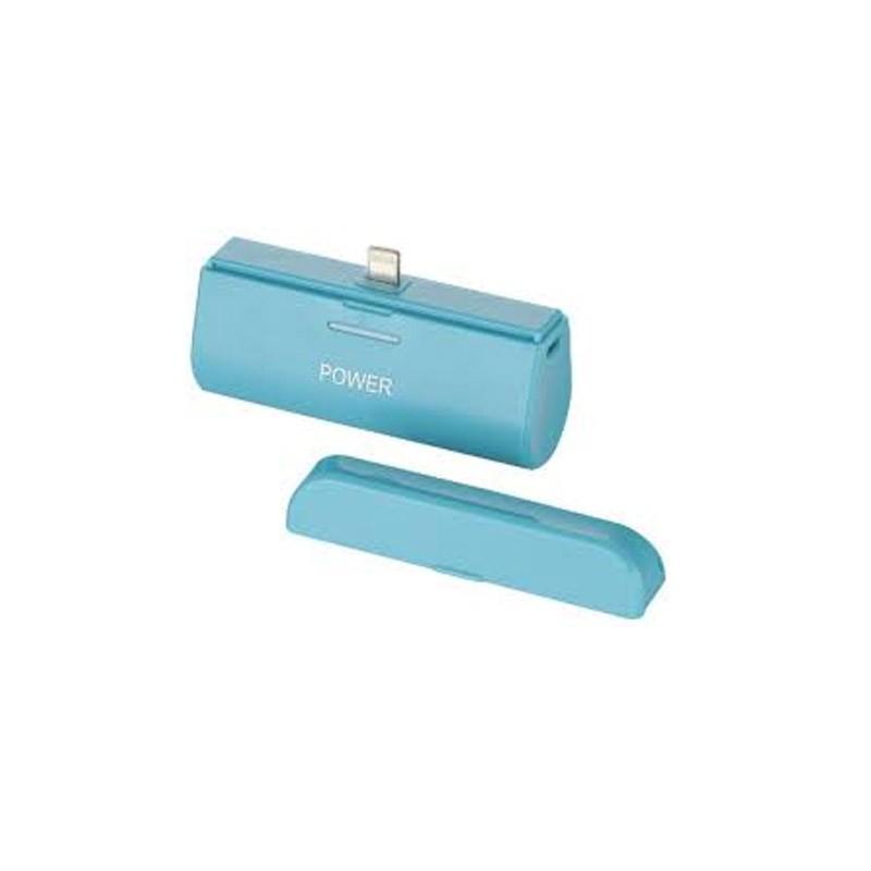 Mini Power Bank για Συσκευές iOS Χρώματος Γαλάζιο