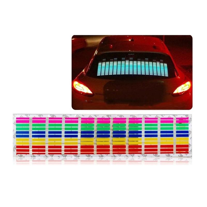 Φωτορυθμικό Αυτοκινήτου LED Equalizer Αυτοκόλλητο