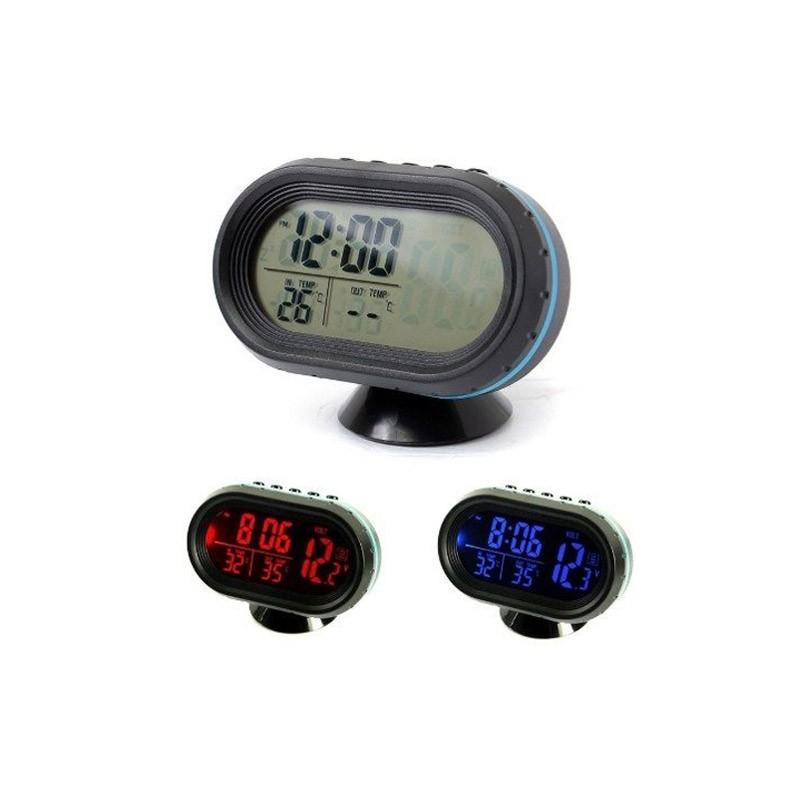 19.9 - Ρολόι Αυτοκινήτου Πολλαπλών Ενδείξεων VST-7009V