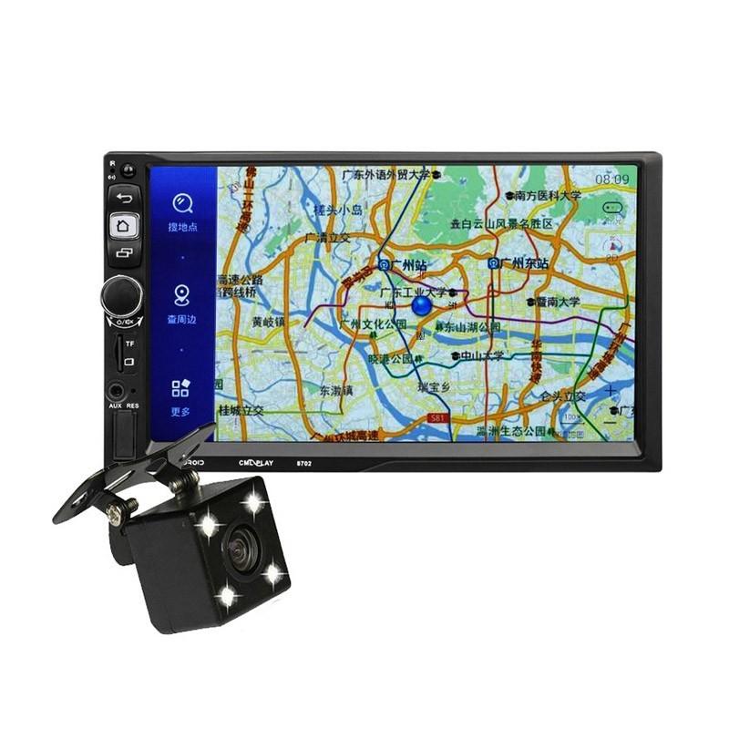 Σύστημα Ψυχαγωγίας Αυτοκινήτου 2 DIN GPS με Οθόνη Αφής και Κάμερα Οπισθοπορείας CML-8702