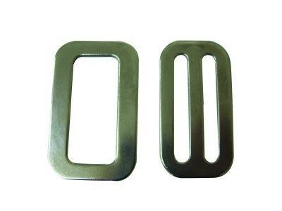 9.32 - Αγκράφα Μεταλλική Πλάτους 50mm - Σετ Των 2 Τεμαχίων