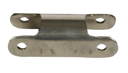 10.6 - Κόμβος Inox Σκάλας 25mm - Σετ Των 2 Τεμαχίων