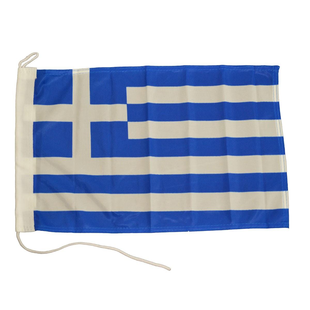6.65 - Ελληνική Ορθογώνια Σημαία Μήκους 27cm