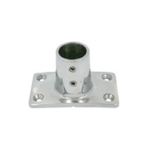 13.49 - Βάση Inox Χυτή Για Κάγκελο/Κουπαστή Διαμέτρου 25mm