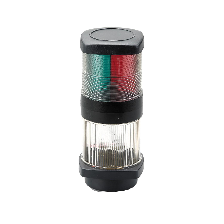 73.1 - Φανός Αγκυροβολίας & Ναυσιπλοΐας Tricolor (3-Χρωμος) 12V