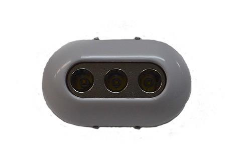 42.96 - Υποβρύχιο Φως Led Χρώμα Λευκό 12/24V 3 Led L96,2xW59,2xT22mm