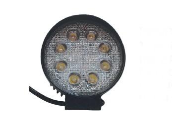 26 - Προβολέας Στρογγυλός Με Βάση Και LED