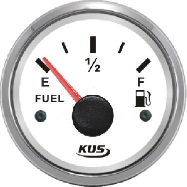 28.44 - Δείκτης Πετρελαίου Βενζίνης 240-33Ohms Χρώμα Μαύρο Ανοξείδωτο Λευκό
