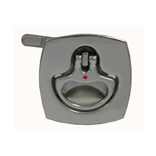 39.26 - Τετράγωνη Κλειδαριά Inox Χωνευτή Βελτιωμένη Χωρίς Κλειδί 51mm