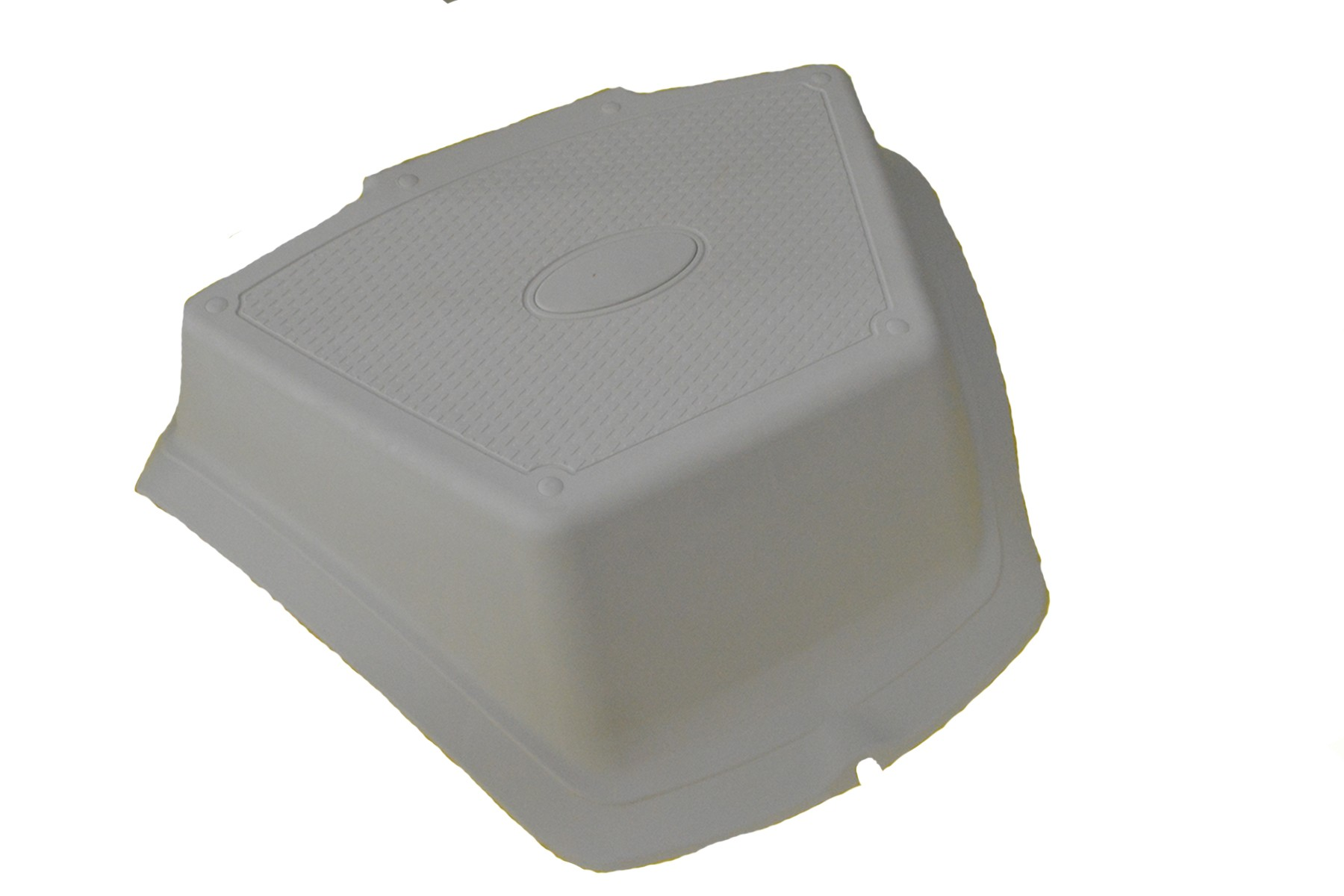 175.25 - Σκαλοπάτι Πλώρης Φουσκωτού PVC Λευκό L 46 Χ W 34