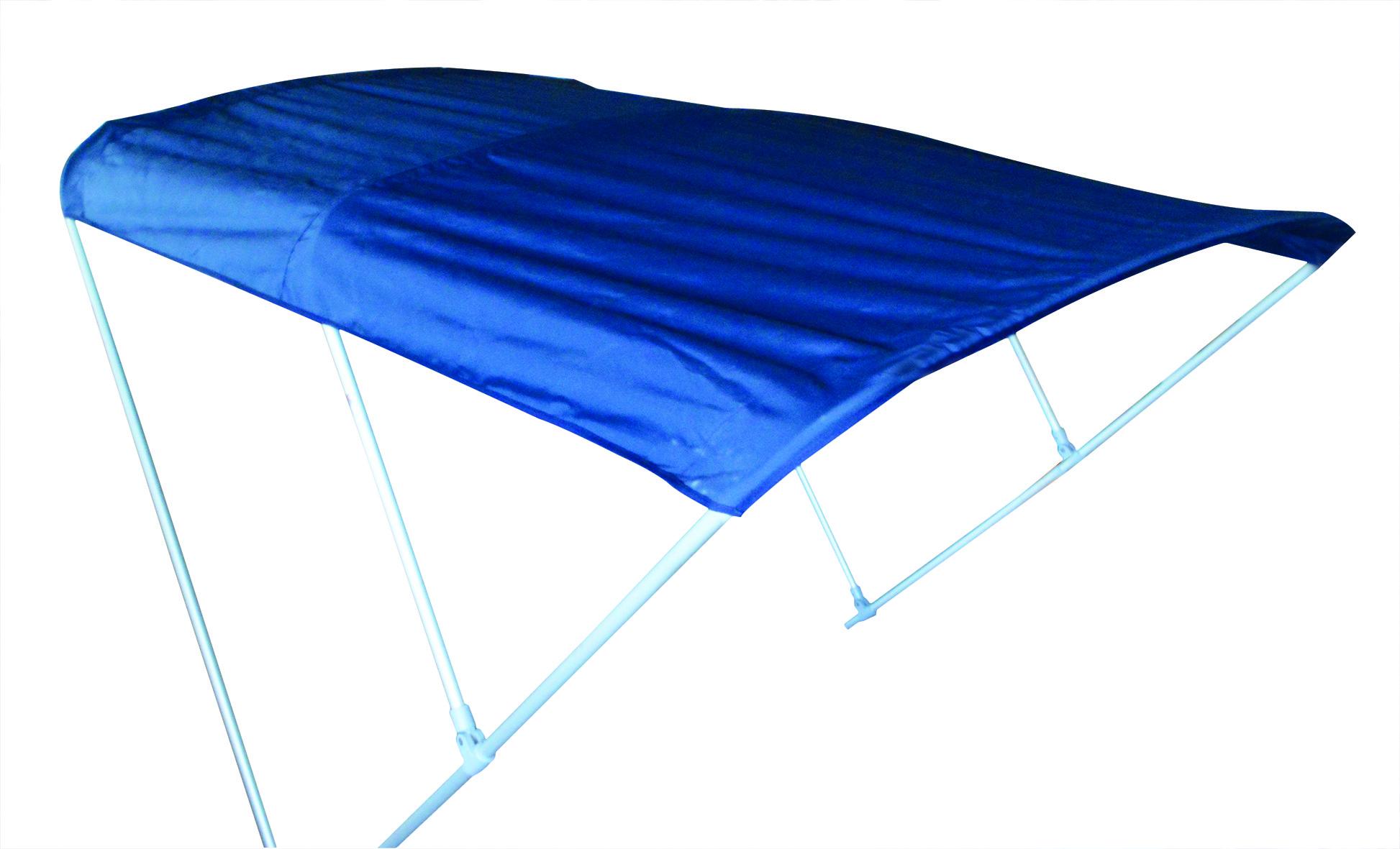 146.35 - Τέντα Με Σταθερά Πλαίσια Αλουμινίου (Με Τρία Μπράτσα) L200 x W 150 x H 130 cm Χρώματος Μπλε