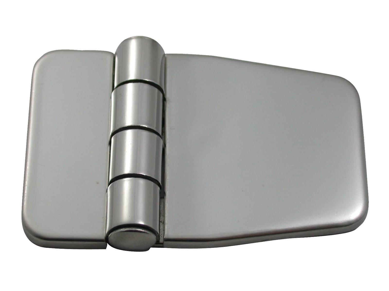 14.91 - Μεντεσές Inox Με Καπάκι 56,7mm x 36,5mm