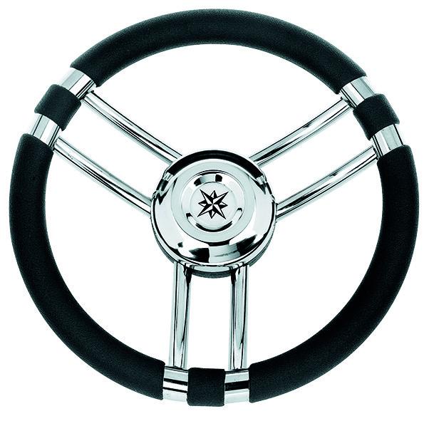 118.48 - Τιμόνι Πολυουρεθάνης Χρώμα Μαύρο Ø350mm