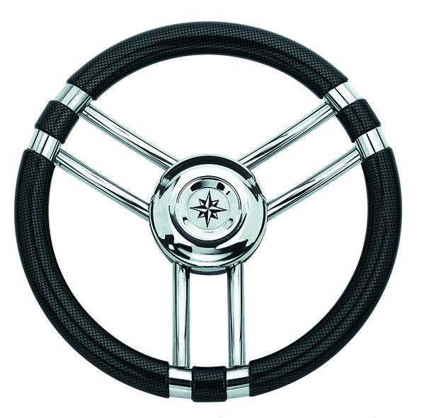 180.94 - Τιμόνι Πολυουρεθάνης Χρώμα Carbon Ø350mm