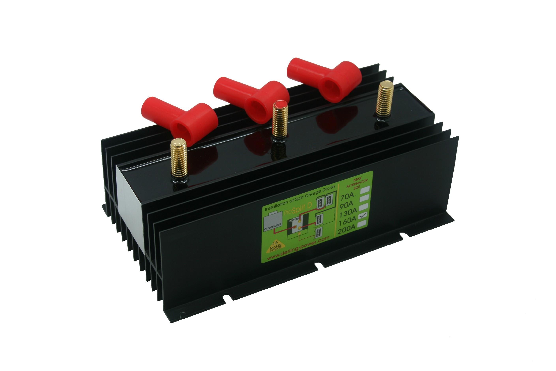183.14 - Διαχωριστής Φόρτισης - Ισοσταθμιστής Μπαταριών Pro Split 160Amp Με 2 Εξόδους