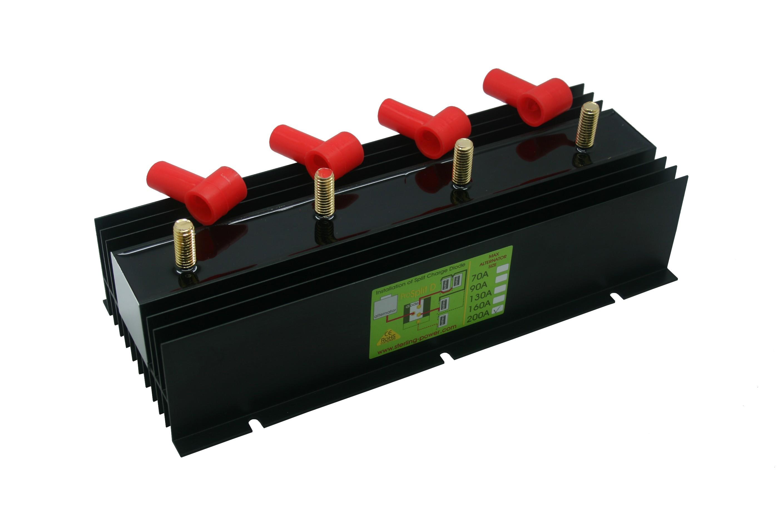 264.42 - Διαχωριστής Φόρτισης - Ισοσταθμιστής Μπαταριών Pro Split 200Amp Με 3 Εξόδους