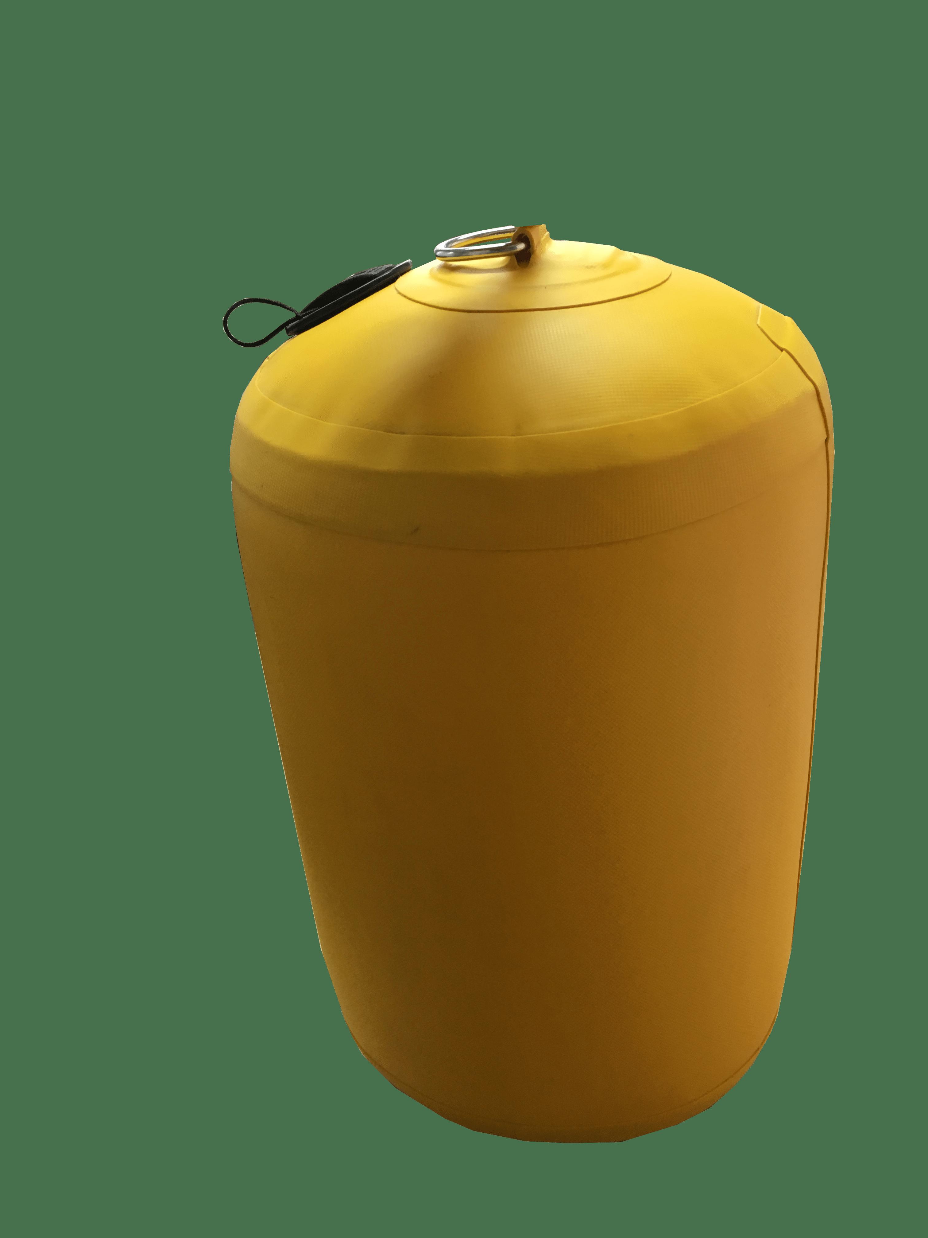 58.93 - Φουσκωτό Μπαλόνι PVC 26x43cm Κίτρινο