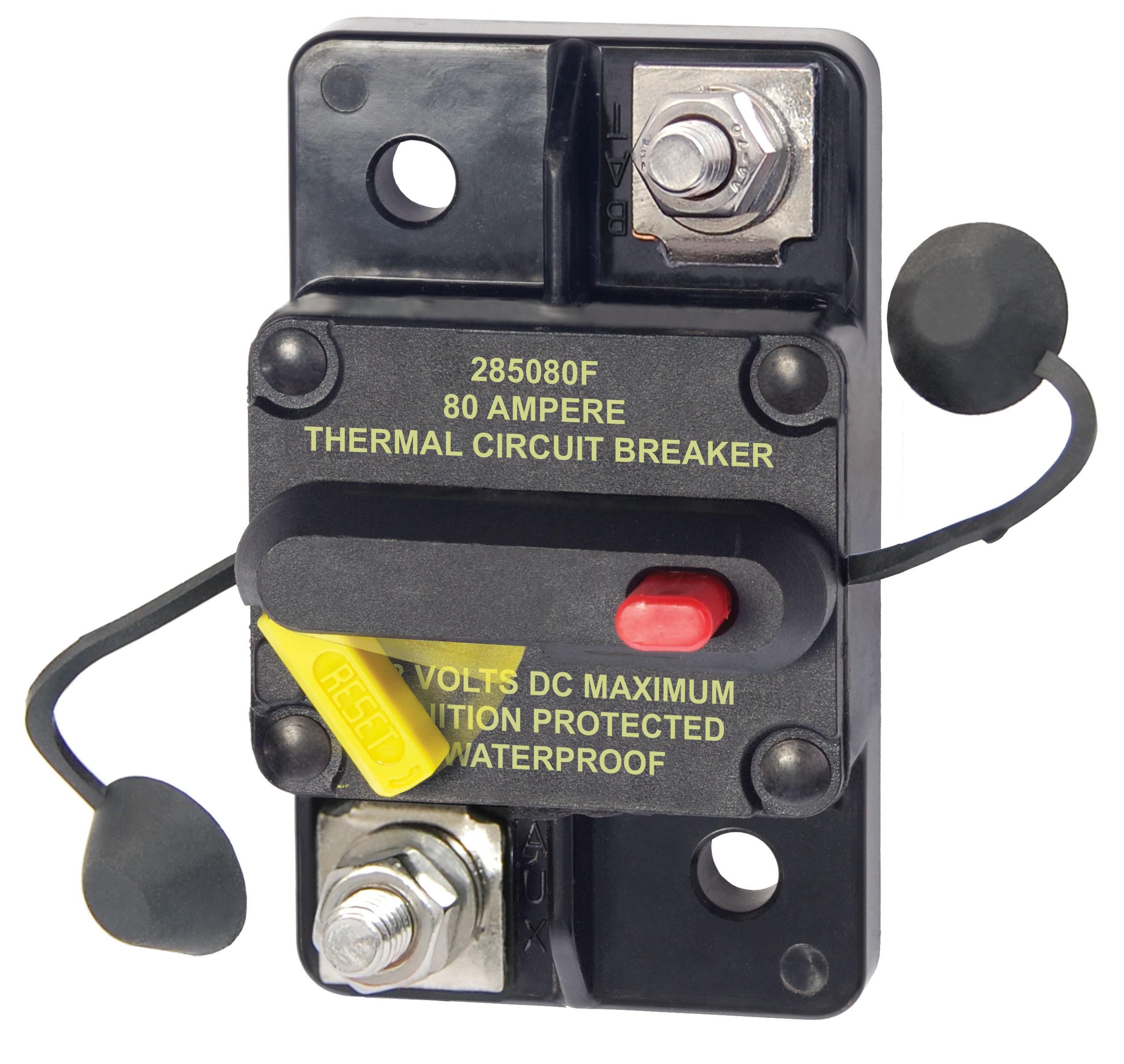 73.18 - Θερμική Ασφάλεια – Επιφανειακή Τοποθέτηση 80Α 48V DC